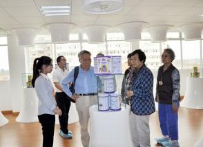 中国优生科学协会专家团来明一国际考察交流