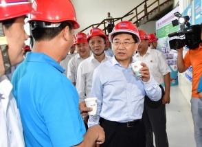 福建省委书记莅临明一国际生态高新科技园考察