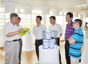 中国奶业协会常务副理事长魏克佳考察明一高新科技园