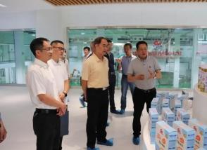 三明市企业与企业家联合会会长陈木星一行走进明一国际生态高新科技园参观考察