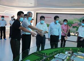 福建省纪委书记莅临明一国际生态高新科技园考察