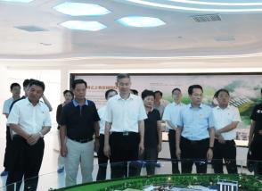 福建省三明市委书记林兴禄走进明一国际生态高新科技园调研