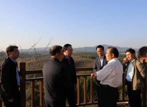 践行绿色发展 福建省政协副主席杜源生一行莅临明一建宁生态基地调研指导